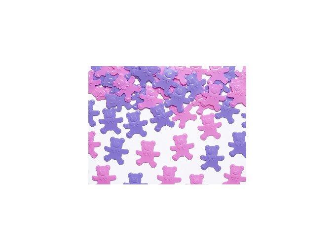 Konfety medvídci růžoví a fialoví, 15g