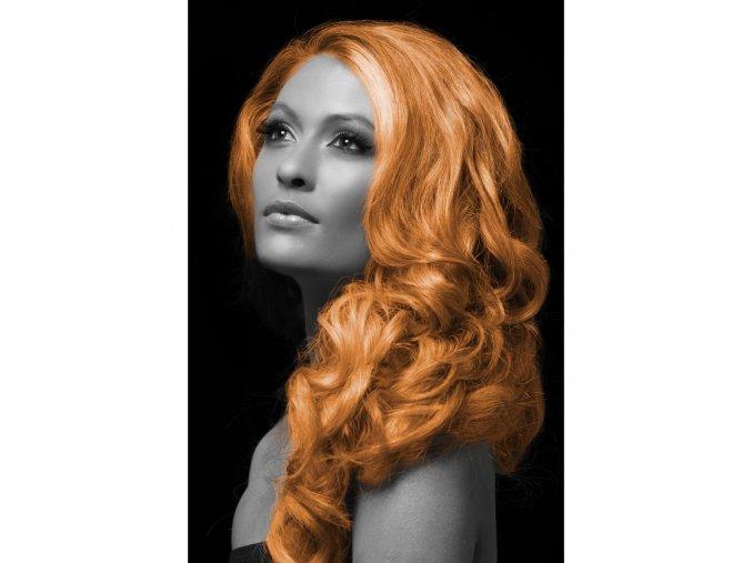 Barevný sprej na vlasy oranžový