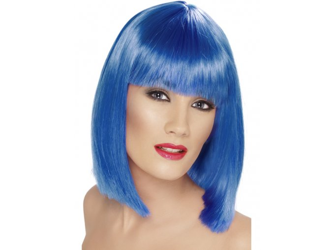 Dámská paruka Mikádo modrá