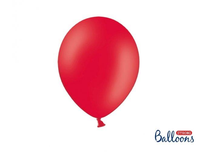 Balónek červený, 27cm
