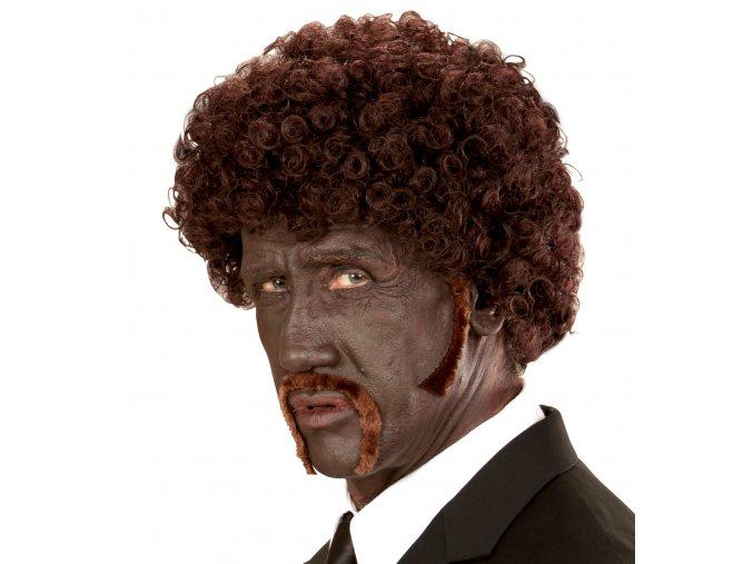 Afro paruka s knírem Jules (Pulp Fiction)