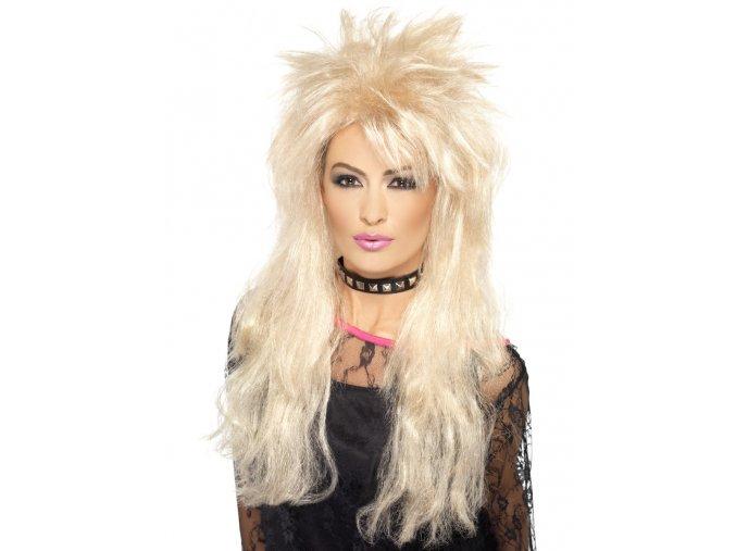 Dámská paruka rockerka blond