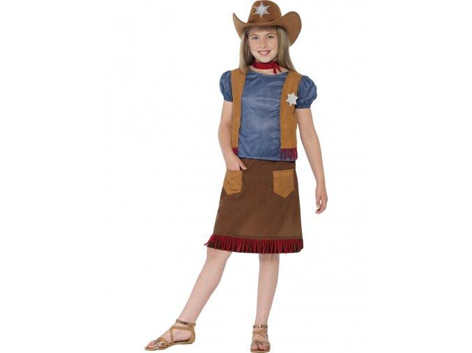Dětský kostým Kovbojka Western