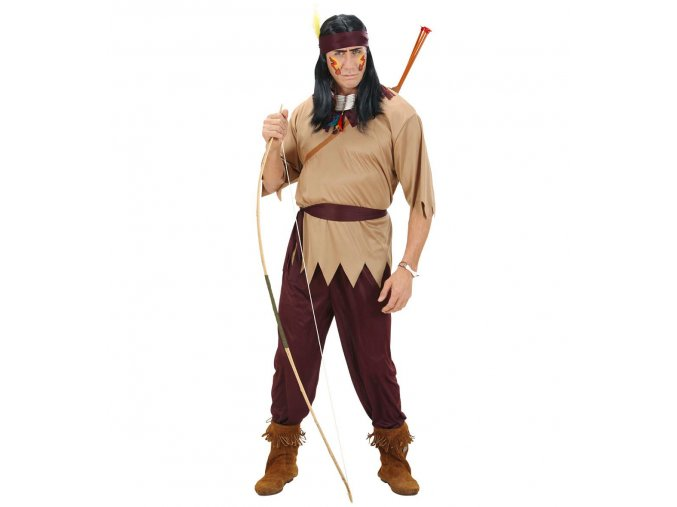 Pánský kostým indiána