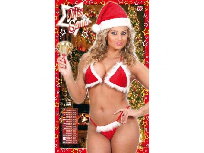Sexy vánoční bikiny
