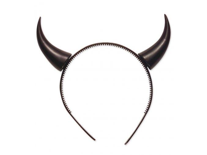 Čertovské rohy černé