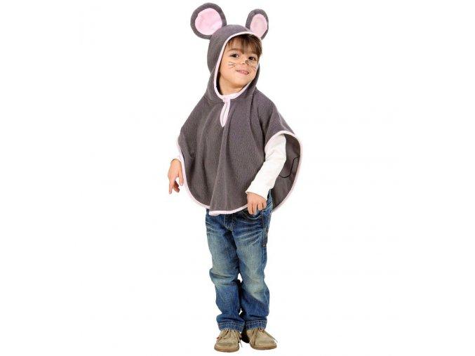 Dětský kostým Myš (pončo)