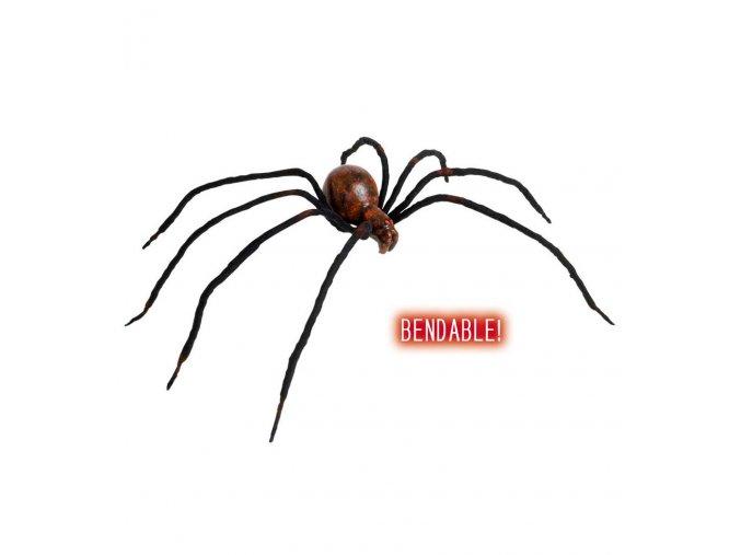 Dekorace Velký pavouk 60cm