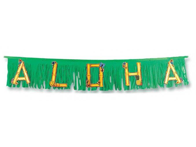 Havajská girlanda Aloha 1,5m