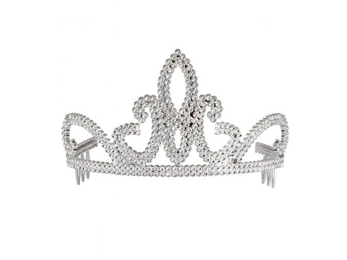 Stříbrná princeznovská korunka