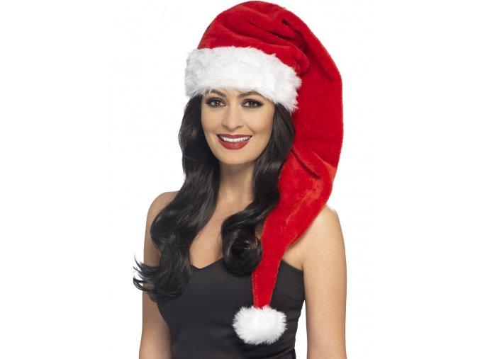 Dlouhá čepice Santa