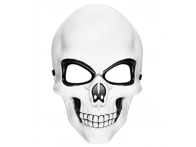 Halloween maska Lebka