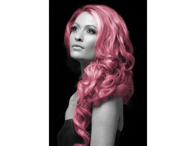 Barevný sprej na vlasy růžový