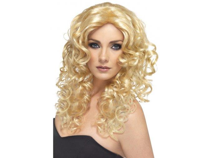Dámská paruka Glamour blond