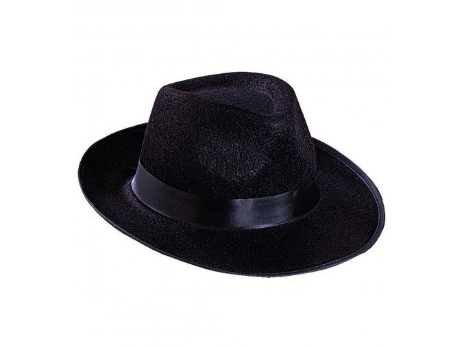 Mafiánský klobouk plstěný