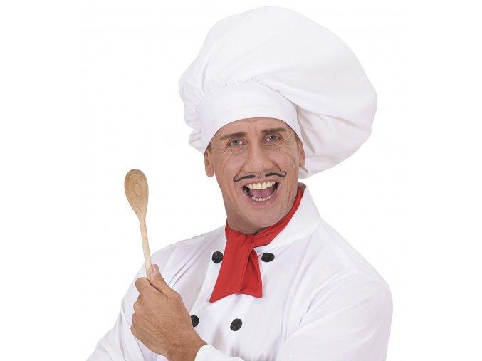 Velká kuchařská čepice