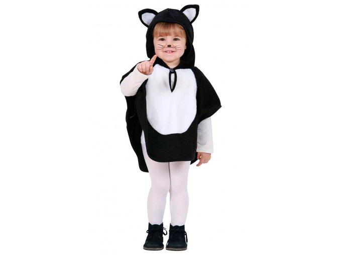 Dětský kostým kočky (pončo)