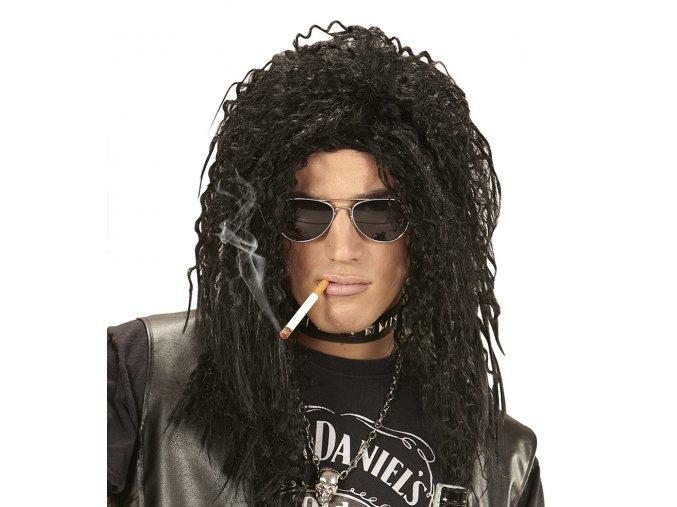 Černá paruka Rocker