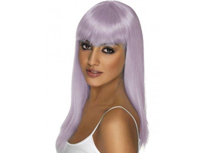 Dámská paruka fialová Lila
