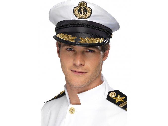 Čepice Námořní kapitán deluxe
