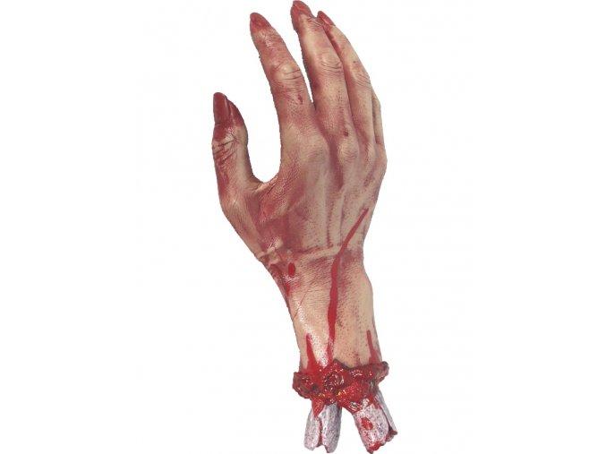 Halloween dekorace Krvavá ruka