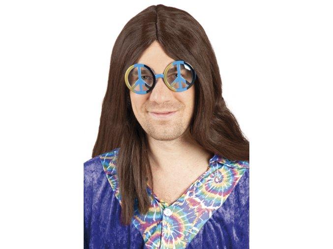 Modré brýle hippie
