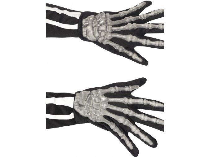Rukavice kostlivec (vystouplé kosti)