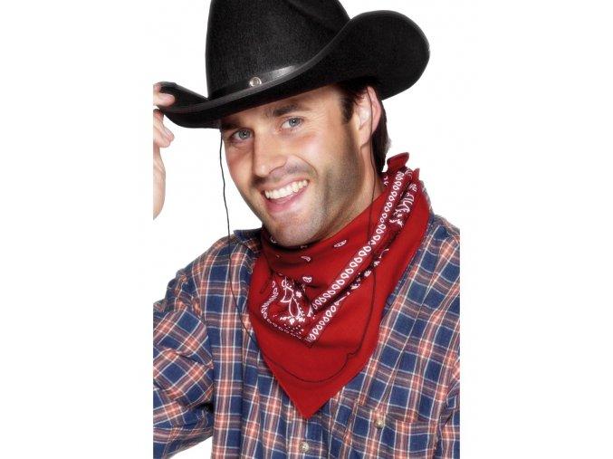 Kovbojský šátek na krk Western