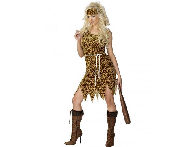 Dámský kostým Jeskynní žena