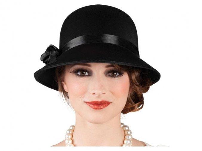 Dámský klobouk Charleston lady