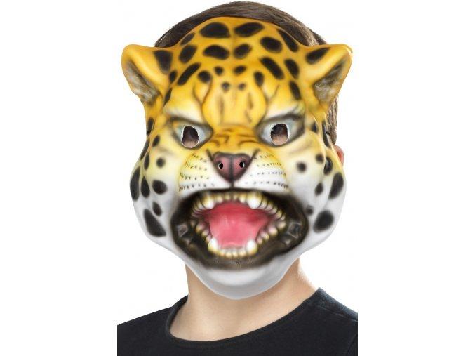 Dětská zvířecí maska Leopard