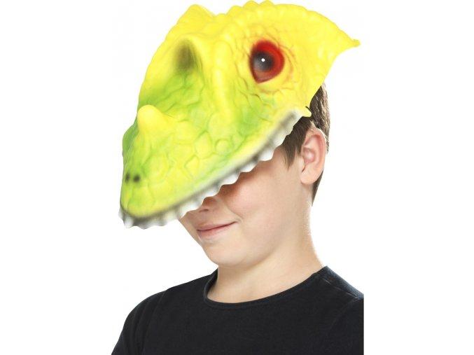 Dětská zvířecí maska Krokodýl