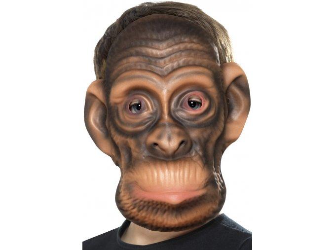 Dětská zvířecí maska Opice