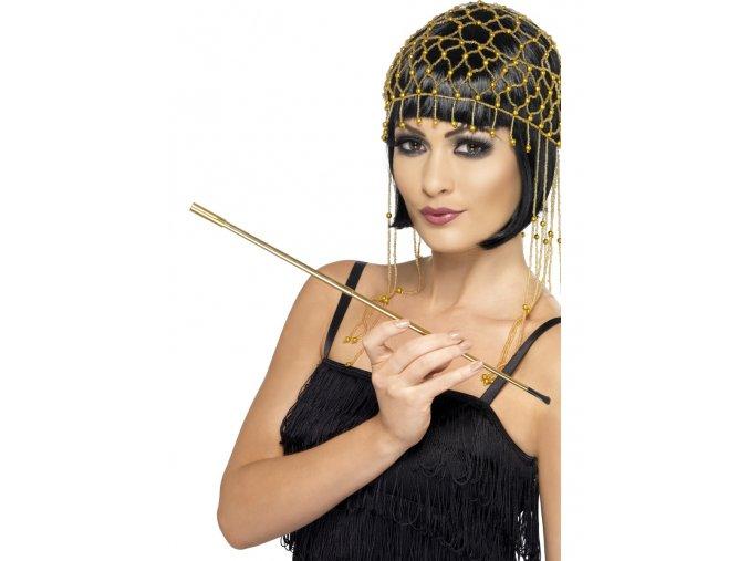 Cigaretová špička zlatá