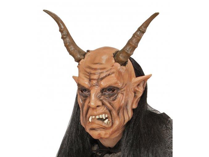 Maska čerta Krampus