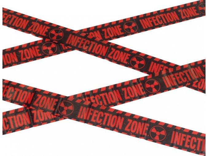 Halloween páska Infekční zóna 6m