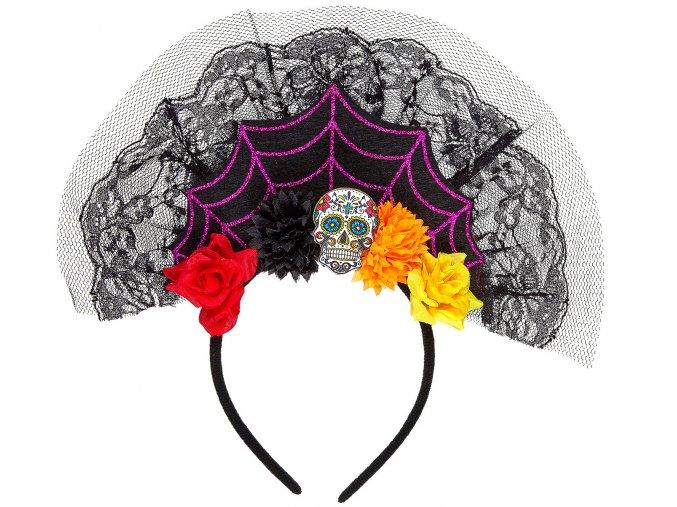 Čelenka Sugar Skull