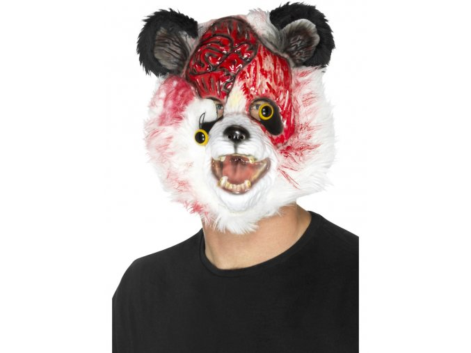 Maska zombie Panda