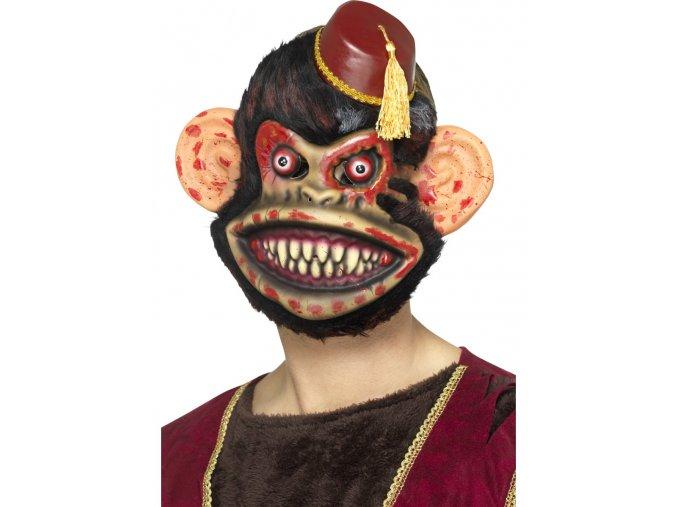 Maska zombie Opice