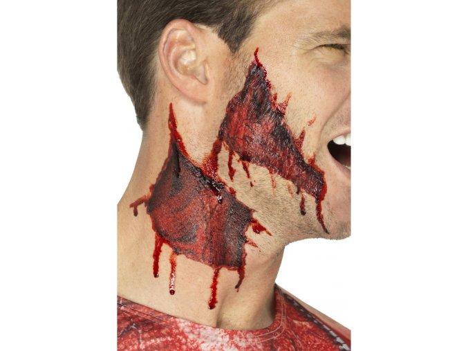 Tetování umělé zranění sedřená kůže