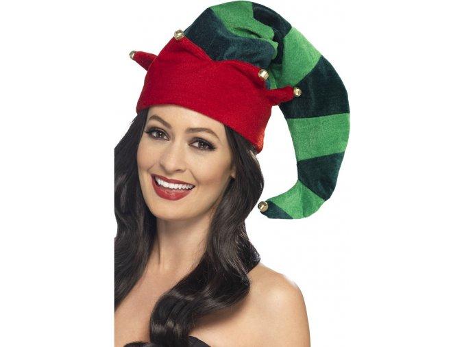 Vánoční čepice pro Elfa