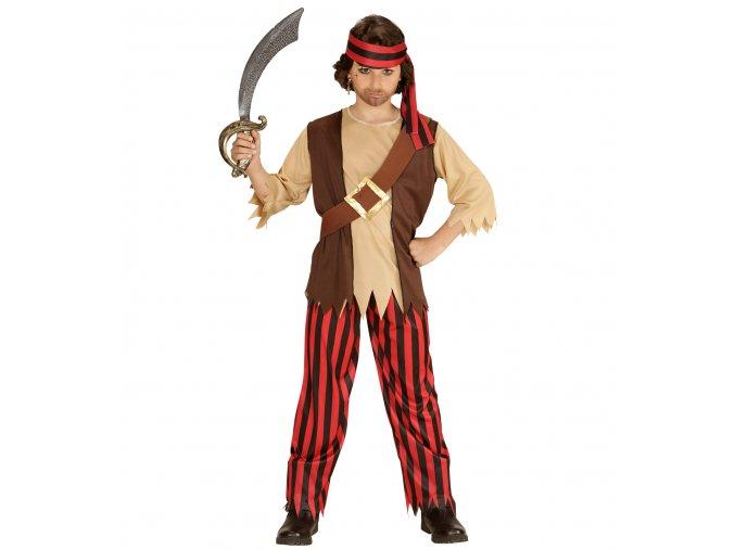 Dětský kostým piráta