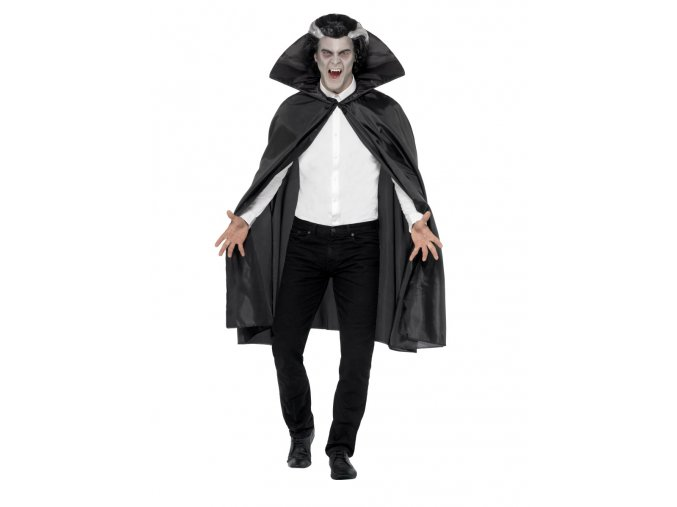 Černý upíří plášť (114cm)