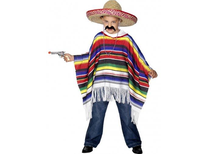 Dětské mexické pončo