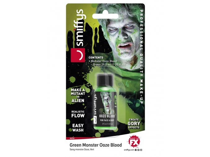 Zombie zelený sliz (30ml)