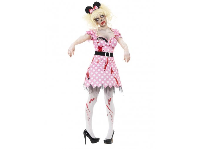 Dámský kostým Zombie Minnie