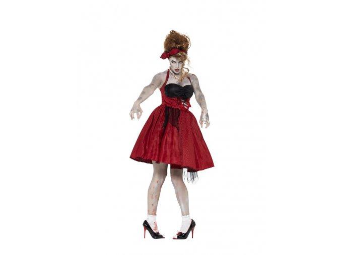 Dámský kostým zombie 50's Rockabilly