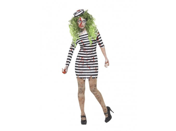 Dámský kostým zombie Vězeňkyně