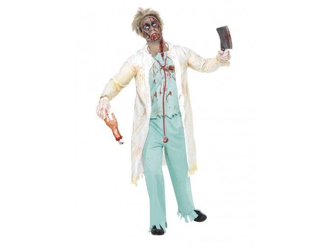 Pánský kostým zombie Doktor