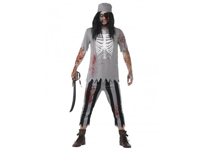 Pánský kostým zombie Pirát